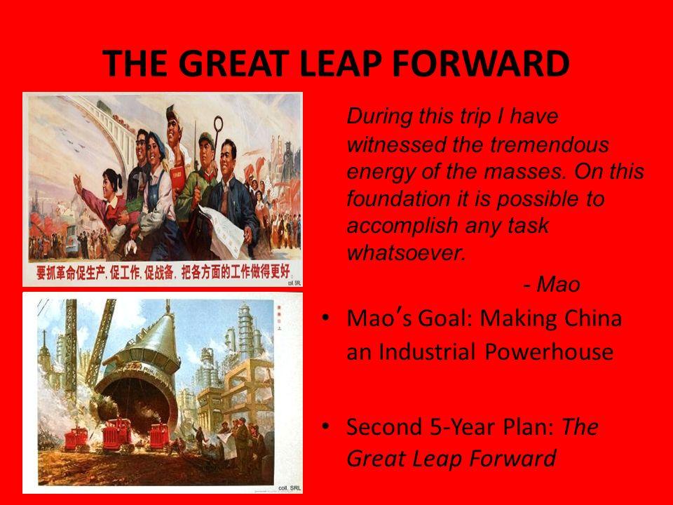 why did the great leap forward fail