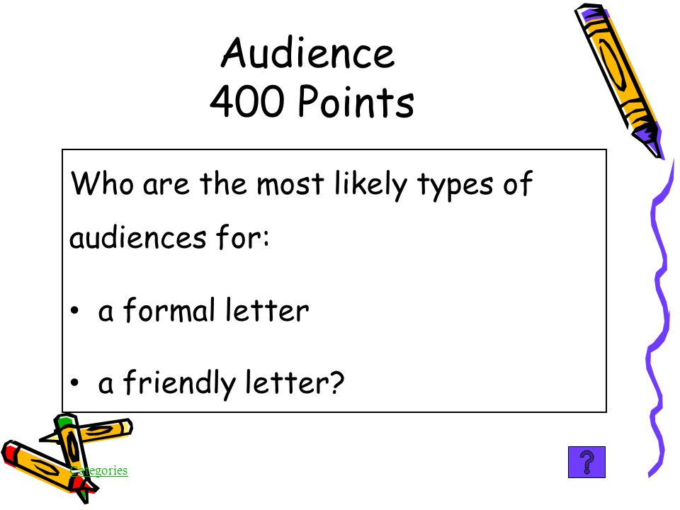 Categories Audience 300 Points False You are MOST likely to persuade your audience to agree with you with positive persuasive techniques.