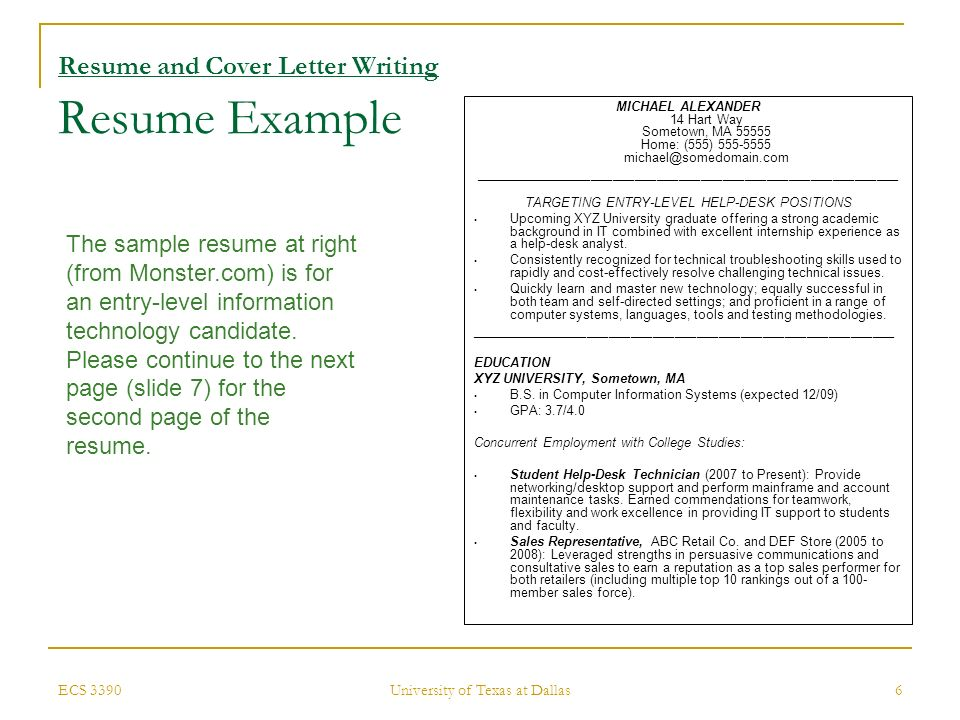 Incredible Ecs 3390University Of Texas At Dallas1 Activity Resume And Download Free Architecture Designs Embacsunscenecom