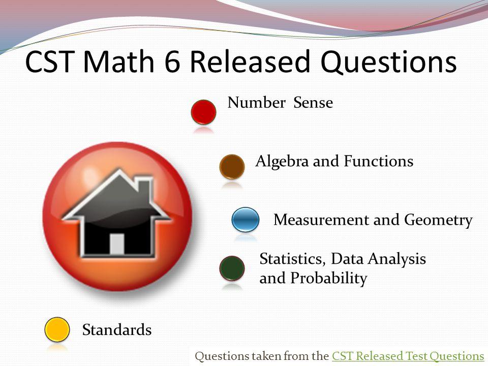 Number Sense Standards Measurement And Geometry Statistics