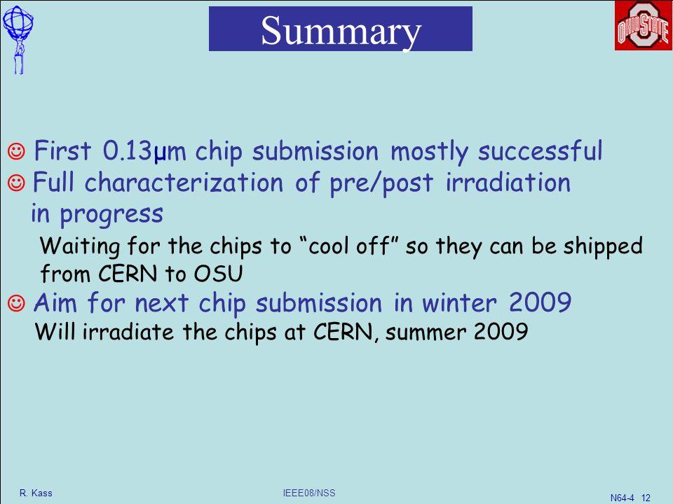 IEEE08/NSS R  Kass N Radiation-Hard/High-Speed Data Transmission