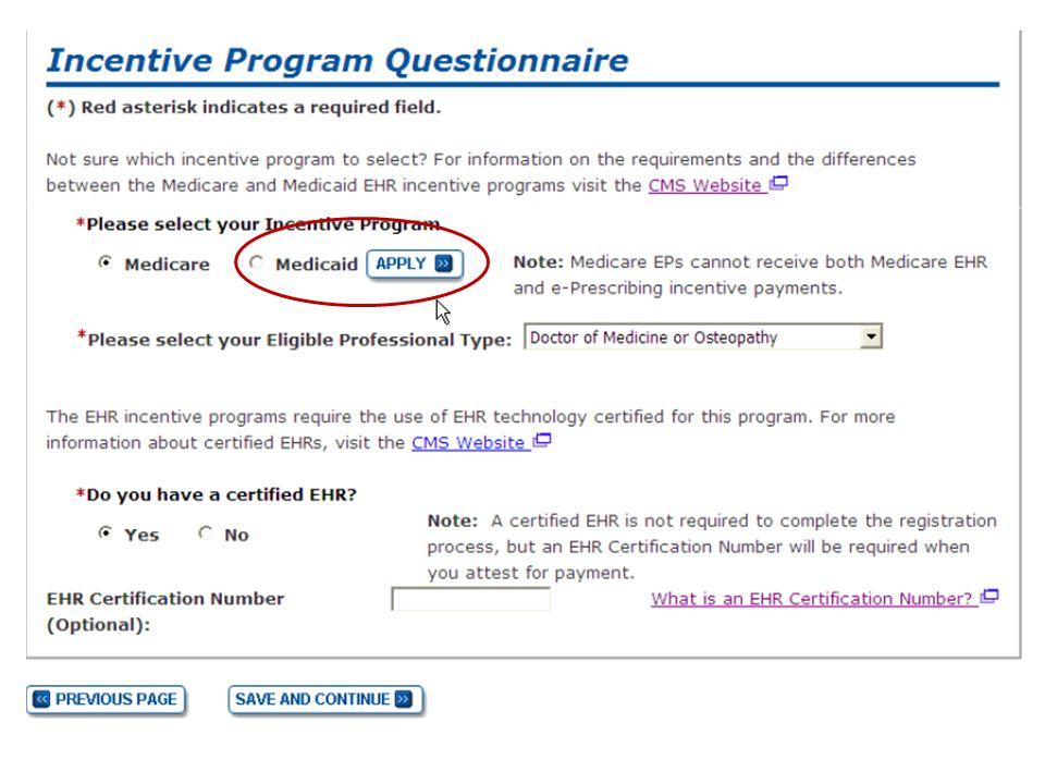 1 Ehr Incentive Program Registration Attestation Tips For The