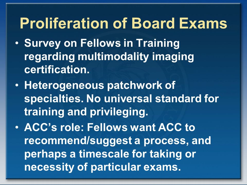 Maintenance of Certification (MOC) for Cardiologists Update