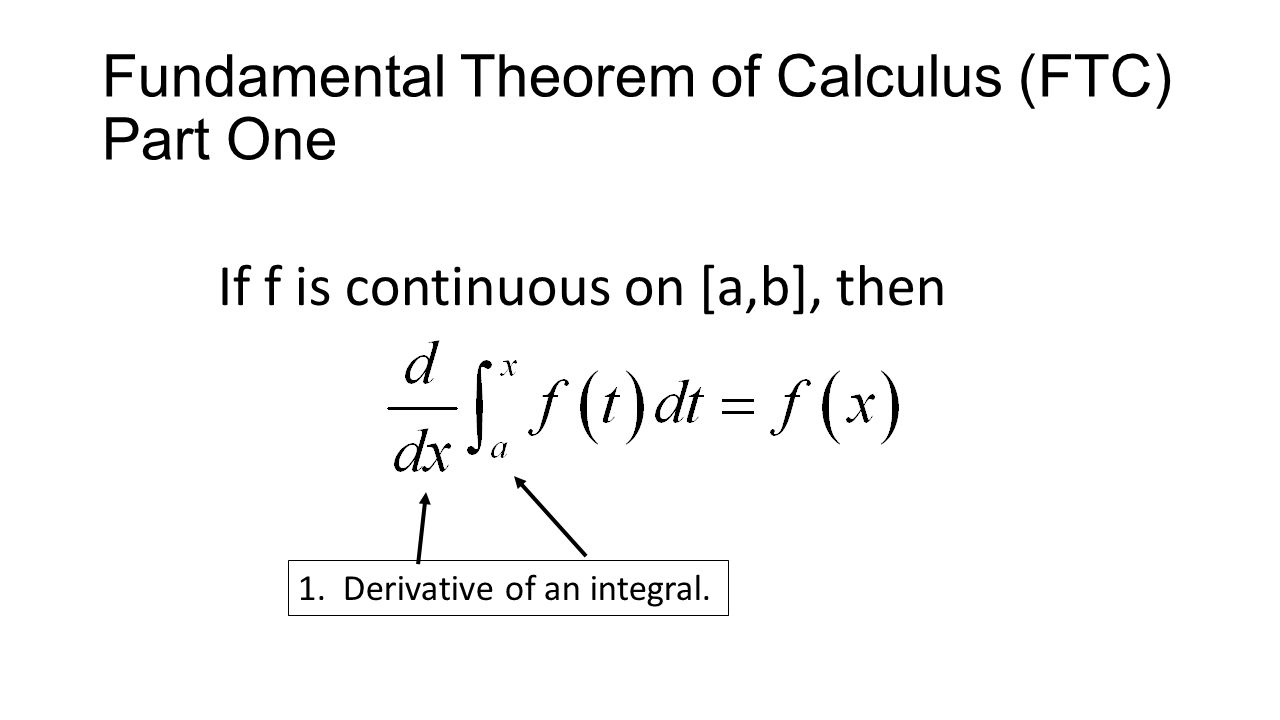 Warm Up  6 4 Fundamental Theorem of Calculus If you were