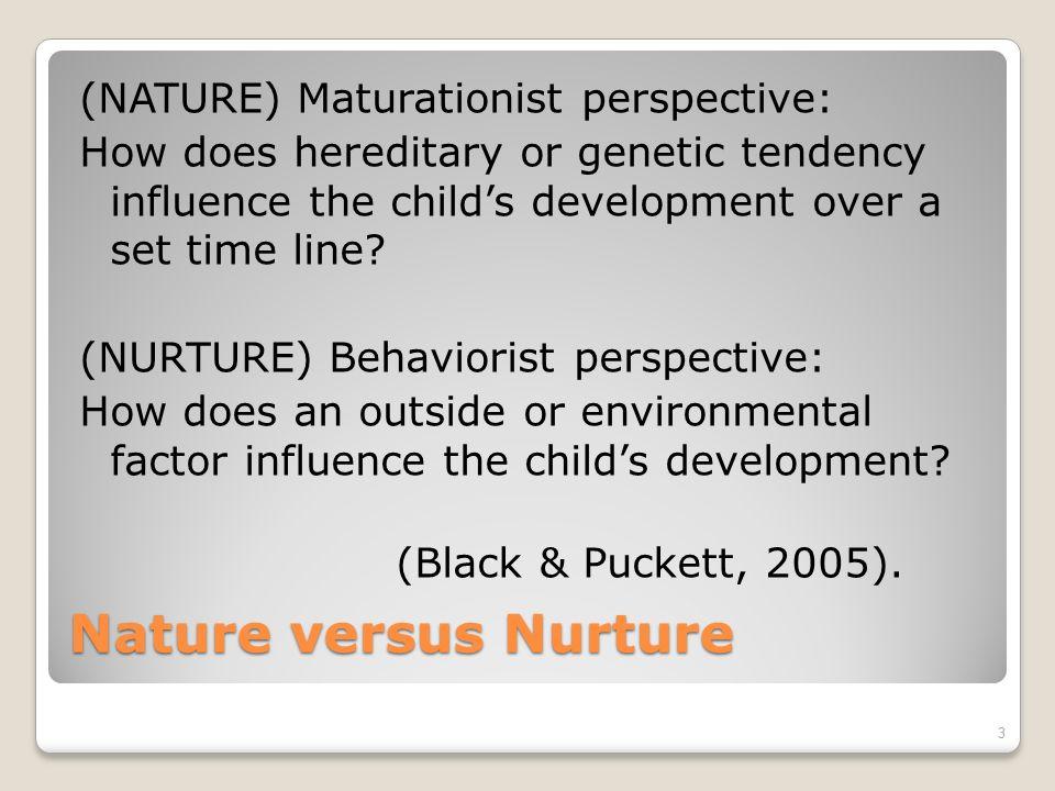 influence of nature on child development