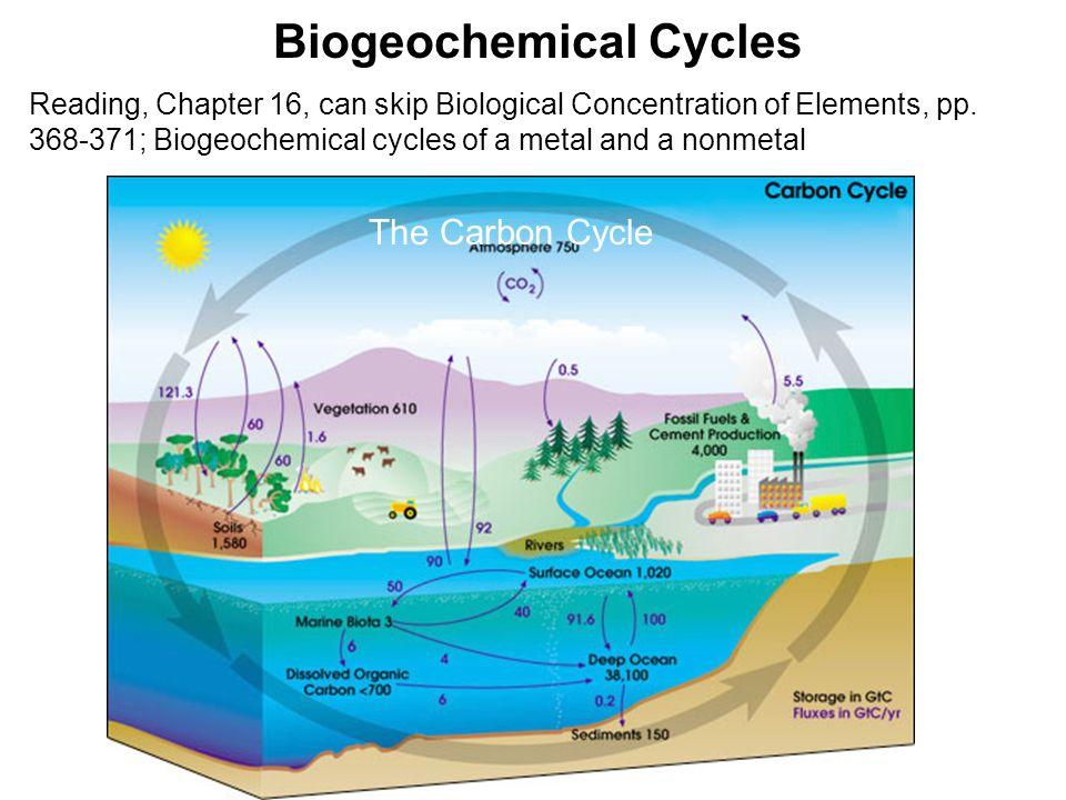 biogeochemical cycles slideshare