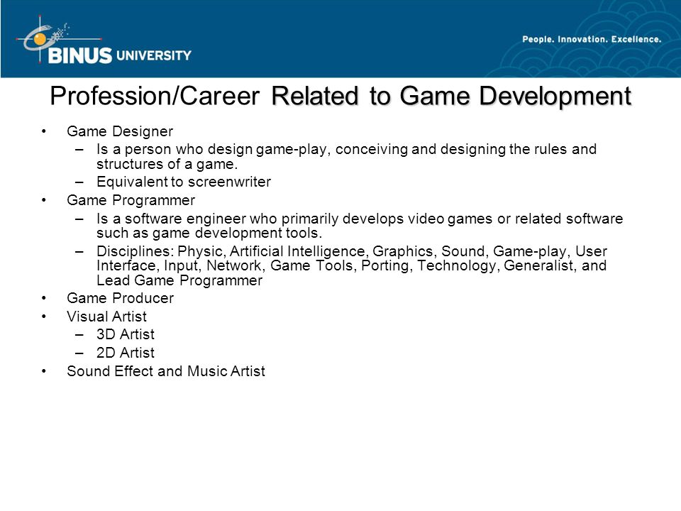 Game Industry and The Future of Game Pertemuan 12 Matakuliah