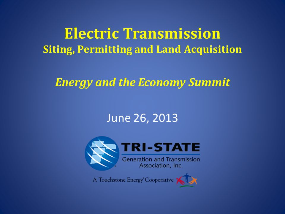 Electric Transmission Siting, Permitting and Land