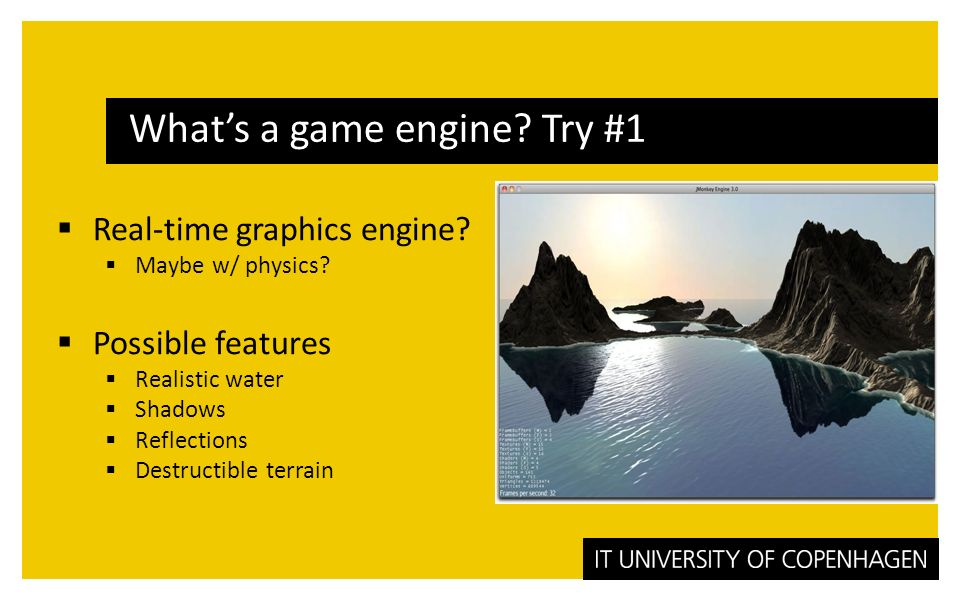 Mark Nelson What are game engines? Fall ppt download