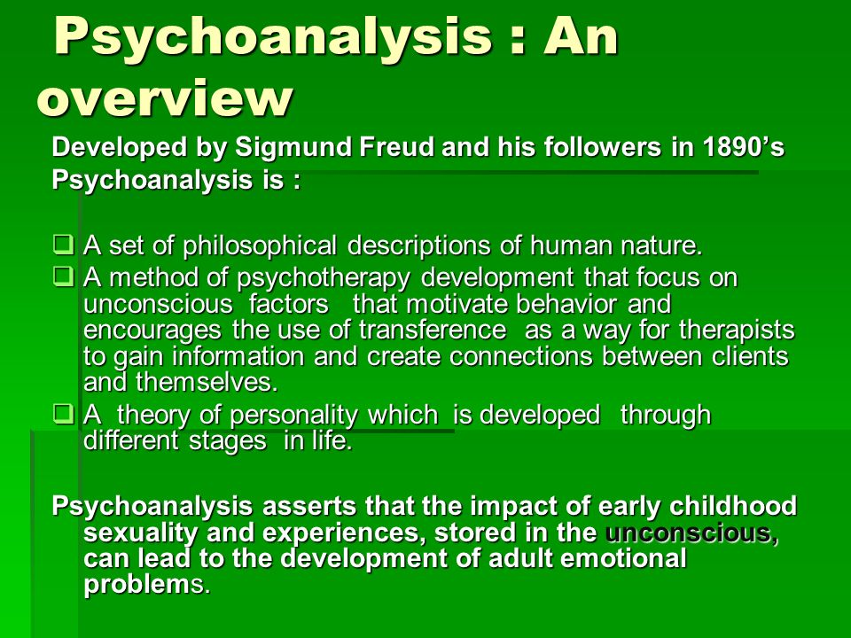 sigmund freud philosophy of human nature