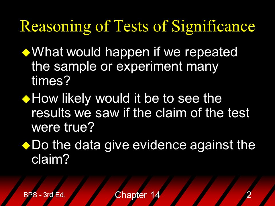 BPS - 3rd Ed. Chapter 142 u What would happen if we repeated the sample or experiment many times.