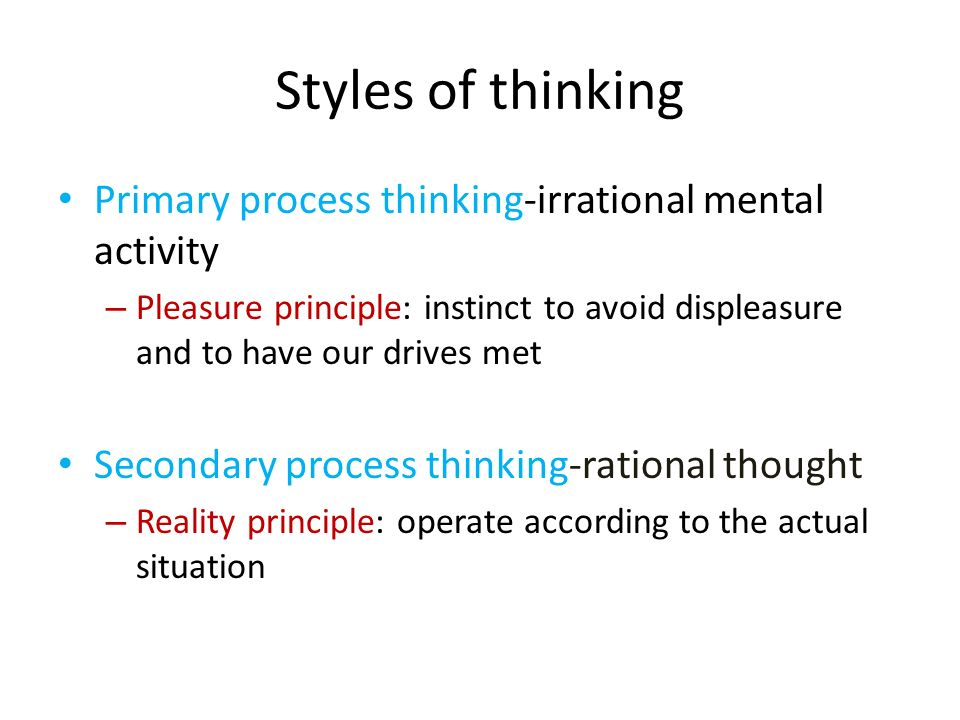 process of critical thinking in psychology At the very heart of cognitive psychology is the idea of information processing cognitive psychology sees the individual as a processor of information, in much the same way that a computer takes in information and follows a program to produce an output.