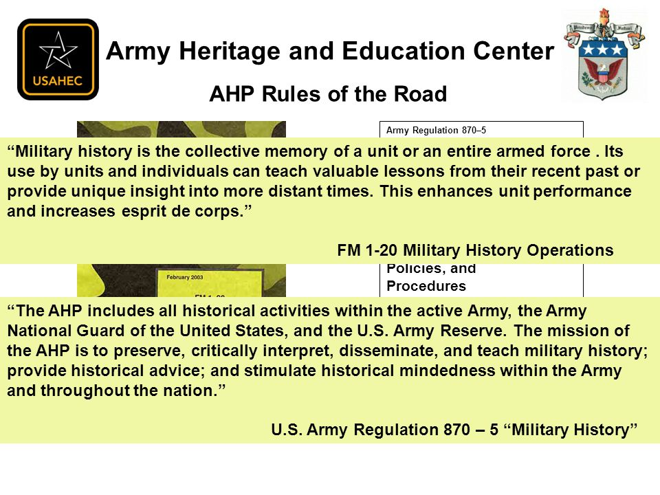 Robert Mages Chief, Oral History Branch U  S  Army Military