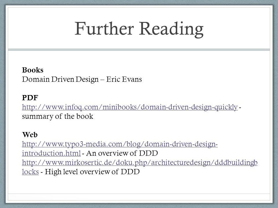 Domain Driven Design Agile Sig Talk Richard Walls Ppt Download