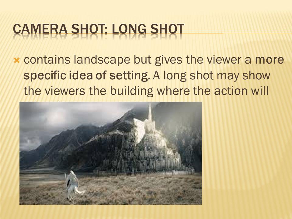 long shot film technique
