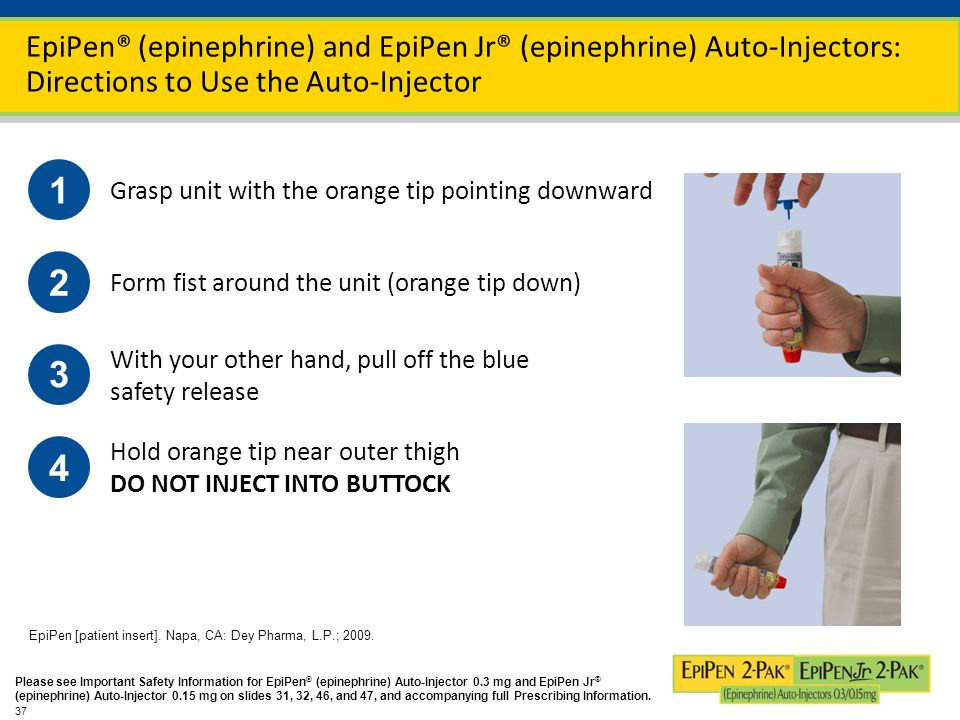 a report on the epipen dispensed and the epinephrine drug Some of the eais currently marketed in the us are dispensed as a two-pack rather than as a single eai 12,13 this is an important distinguishing feature, as 16% to 36% of patients are estimated to require more than 1 dose of epinephrine during an anaphylactic episode 16,17 the need for more than 1 dose of epinephrine has been shown to be.