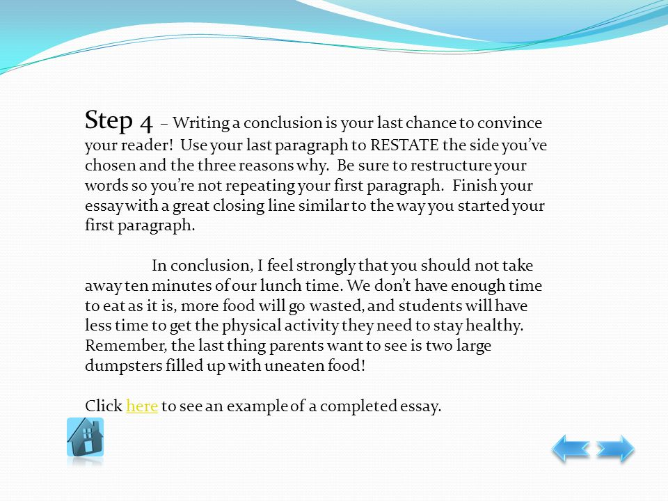 closing words for essays