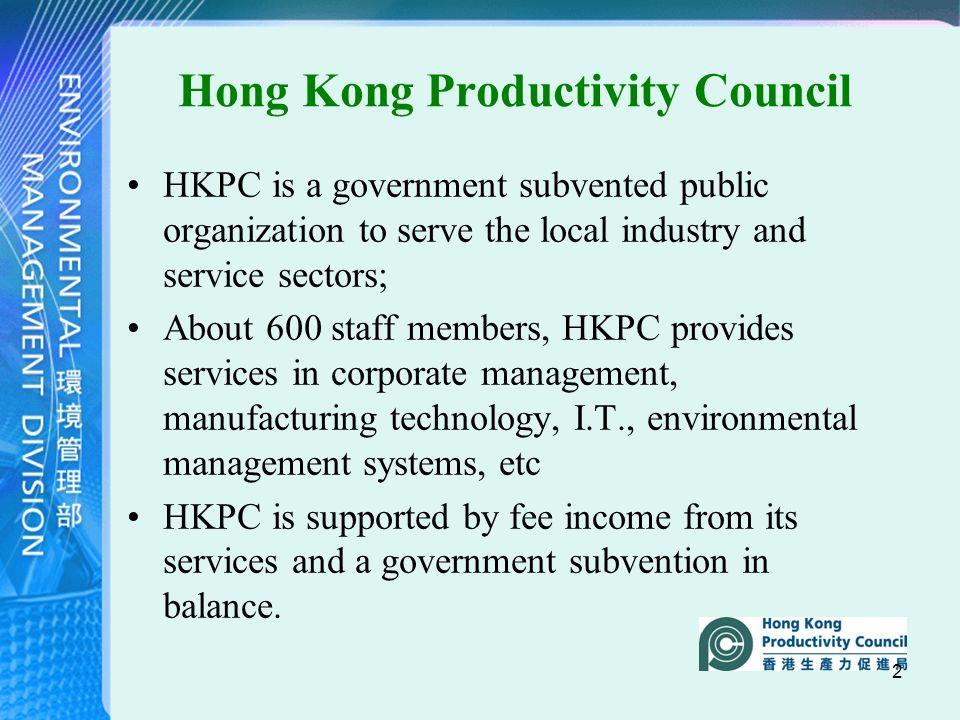 1 1st International Workshop of GHG Protocol Programs
