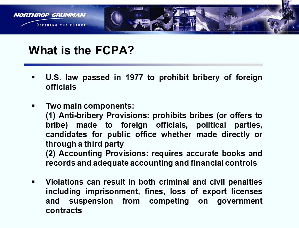 0 Overview Of The Foreign Corrupt Practices Act And Related