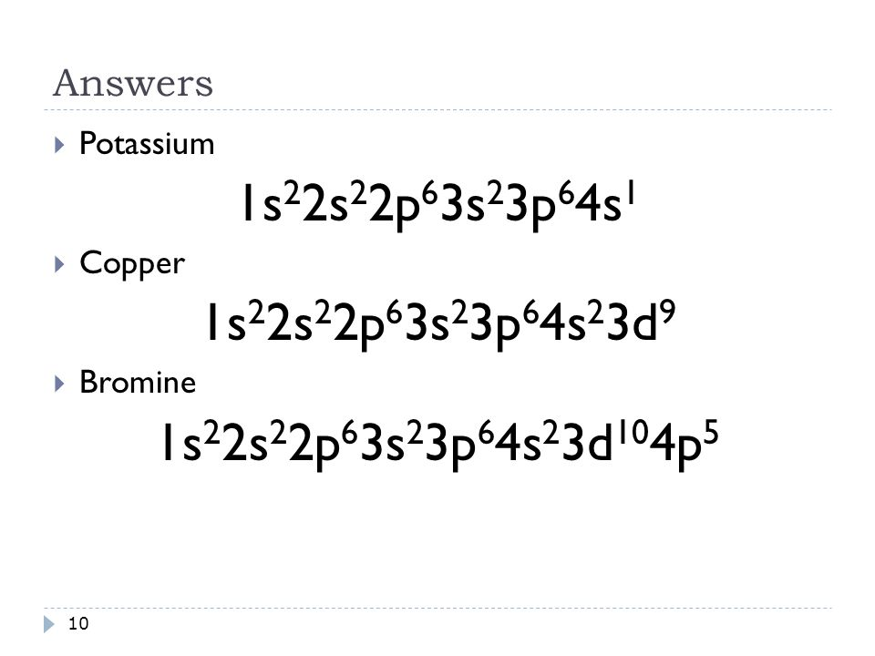 Orbital Notations And Electron Configurations 1 2 N Principle