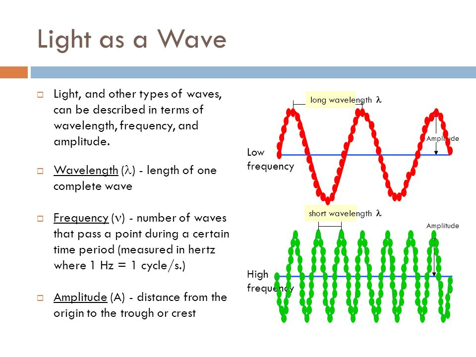 LIGHT AND THE ELECTRON Quantized Energy  The Wave-Particle