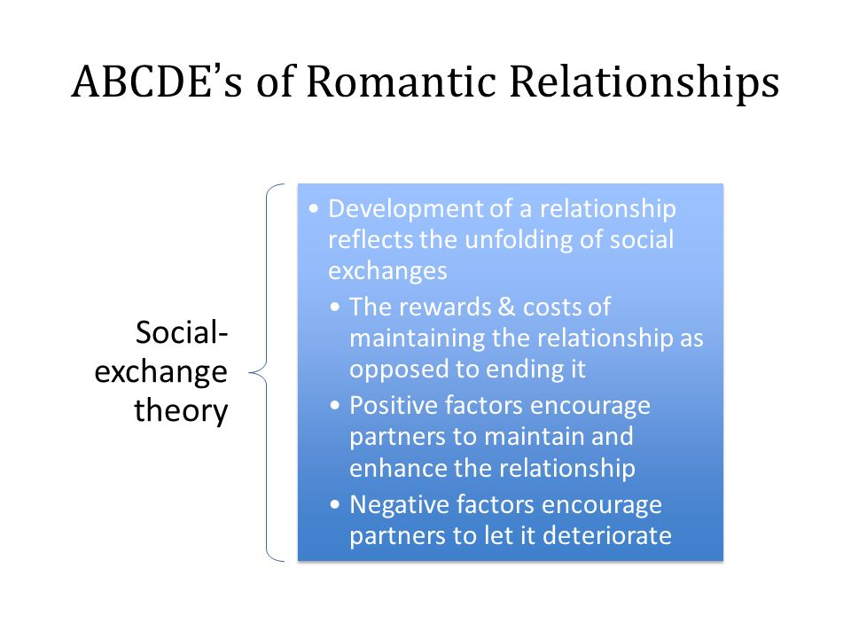 How do romantic relationships develop