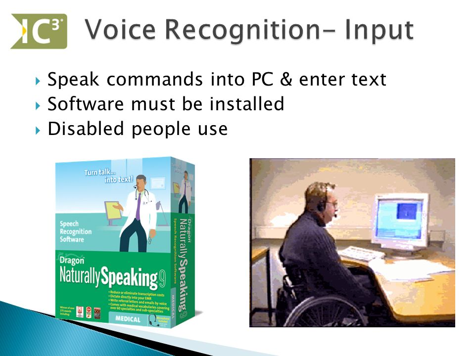 input and output devices for disabled
