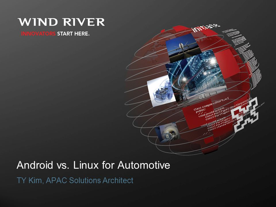 Linux for Automotive TY Kim, APAC Solutions Architect
