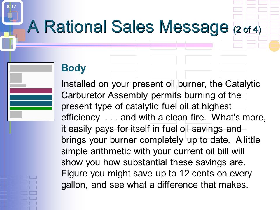 8-17 Installed on your present oil burner, the Catalytic Carburetor Assembly permits burning of the present type of catalytic fuel oil at highest efficiency...
