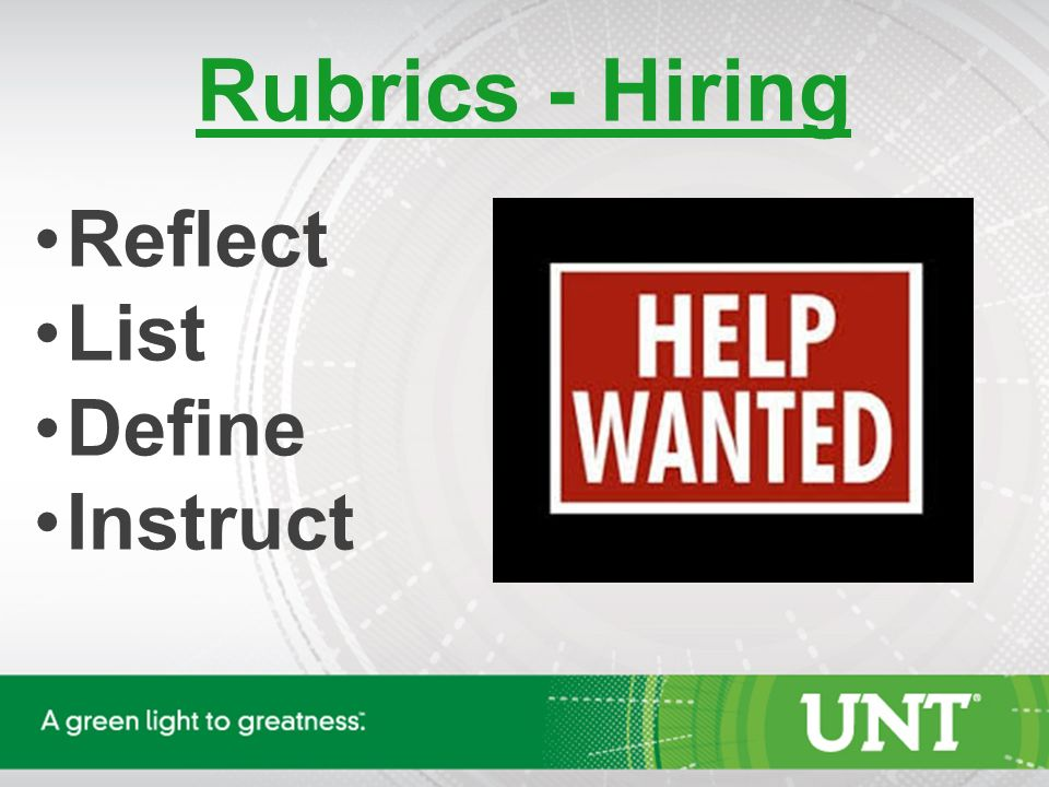 Keeping It Fair Using Rubrics In Hiring And Evaluations Sian