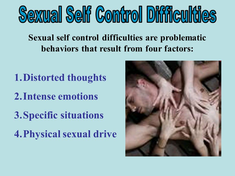 How to control sexual emotions