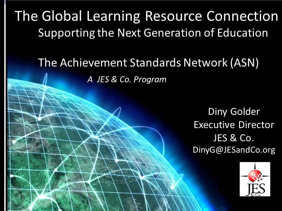 The Global Learning Resource Connection Supporting the Next
