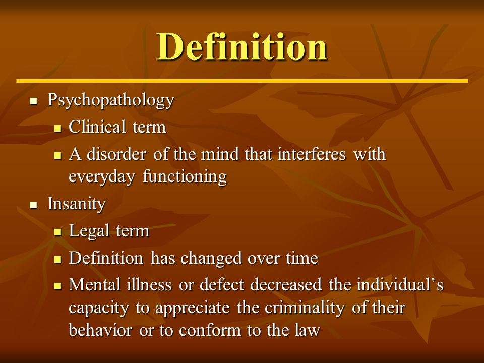 Psychopathology And Treatment Definition Psychopathology