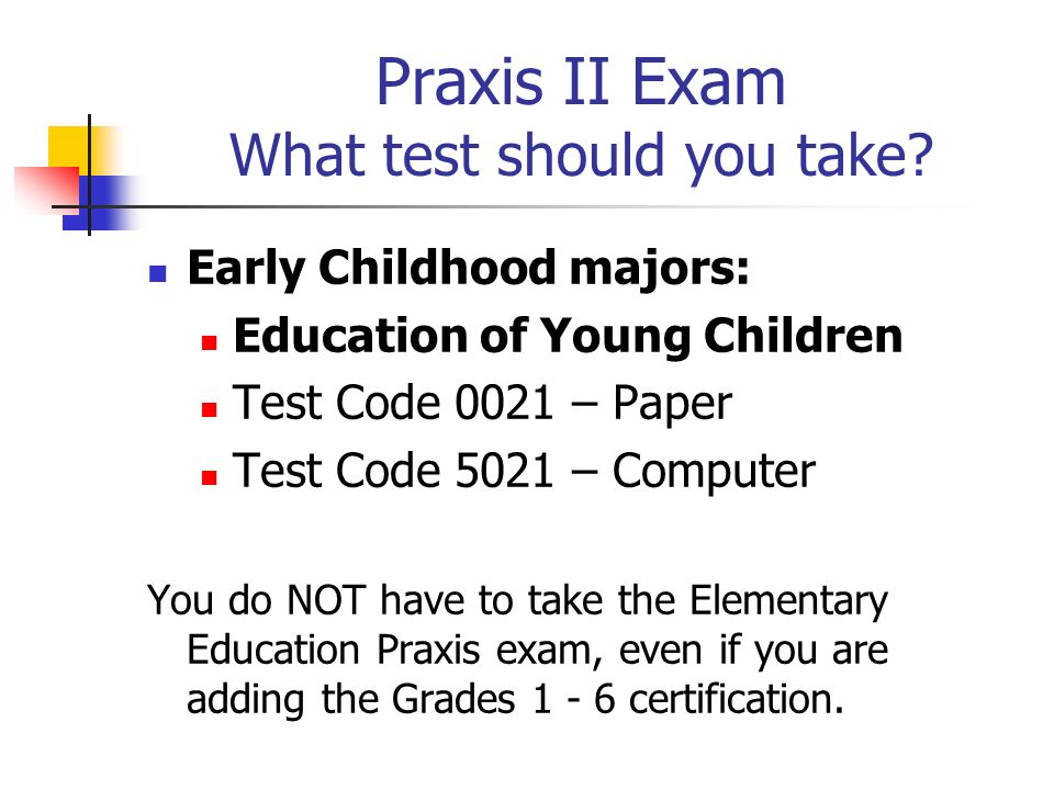 early childhood block praxis ii seminar spring ppt download rh slideplayer com praxis study guide 5024 praxis study guide 5091