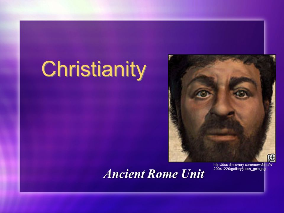 Christianity Ancient Rome Unit /gallery/jesus_goto.jpg