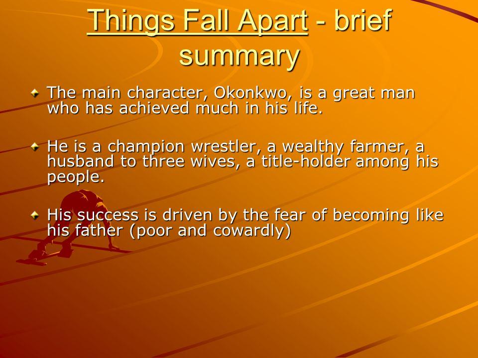 characteristics of okonkwo in things fall apart