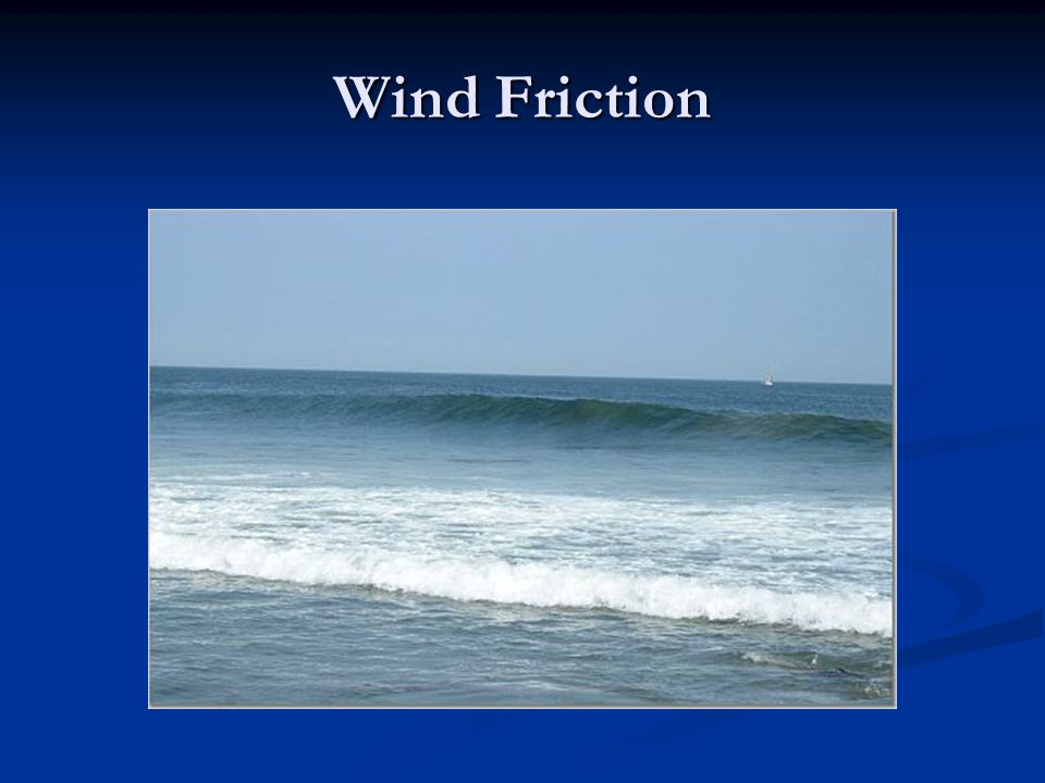 Wind Friction