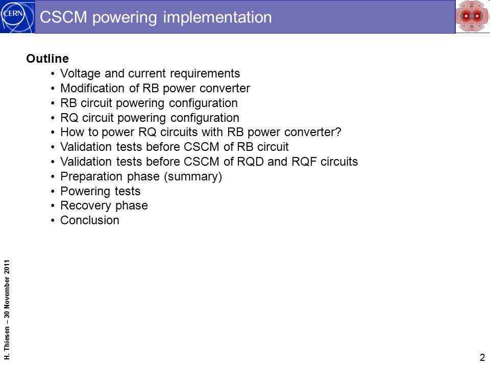 1 Copper Stabilizer Continuity Measurement Project CSCM Mini