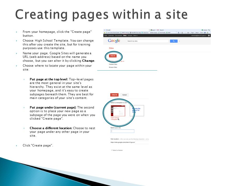 go to Google and login and then select Sites. - ppt download