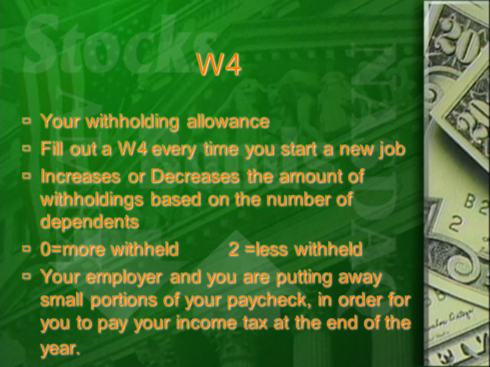 Income Tax  Individual income taxes are paid over time through a payroll withholding system (just look at your paycheck).