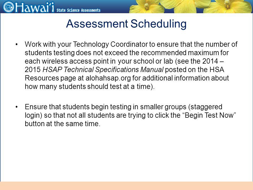 online hawai i state assessments information for test administrators rh slideplayer com