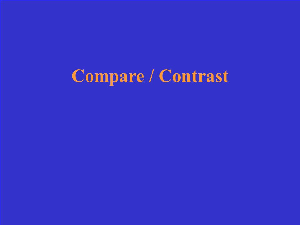 Likewise In the same way Similarly ______________ Conversely Despite However