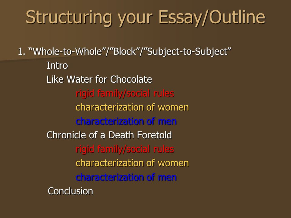 Chronicle Of A Death Foretold By Gabriel Garcia Marquez Today  Structuring Your Essayoutline