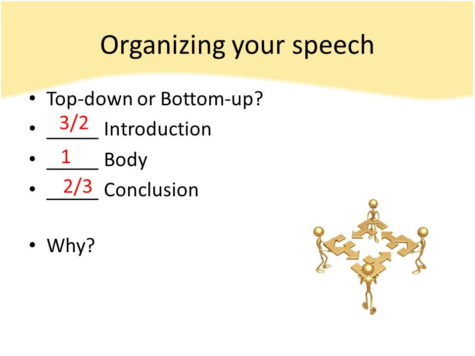 Speaking to inform part 2 preparing for the informative speech 3 top down malvernweather Choice Image