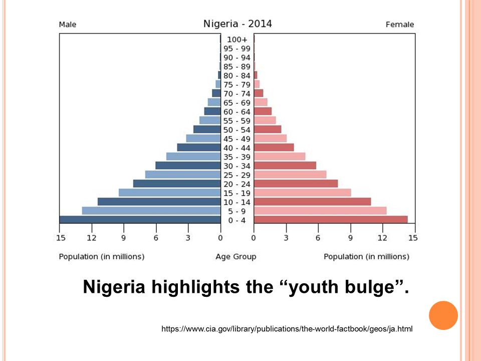 Image result for images of nigeria's youth bulge
