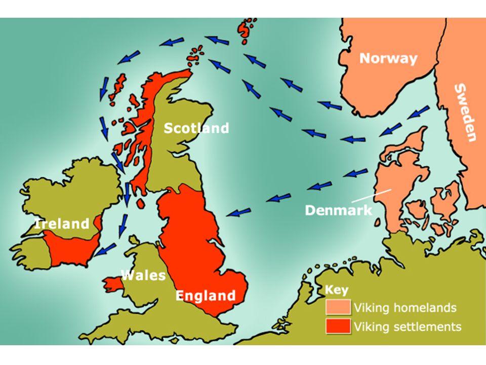 Map Of Ireland Vikings.The Vikings Ppt Download