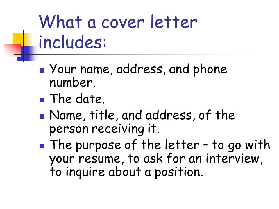 The Cover Letter Personal Finance Mountlake Terrace High ...