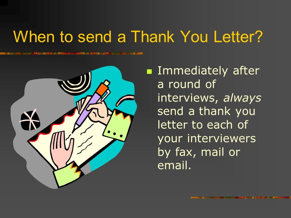 Thank You Letters Don T Underestimate The Power Of A Thank You