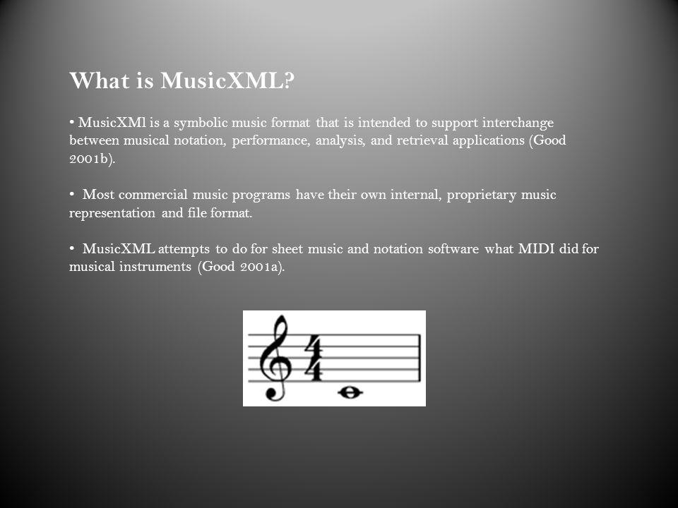 MusicXML David Sears MUMT September, ppt download