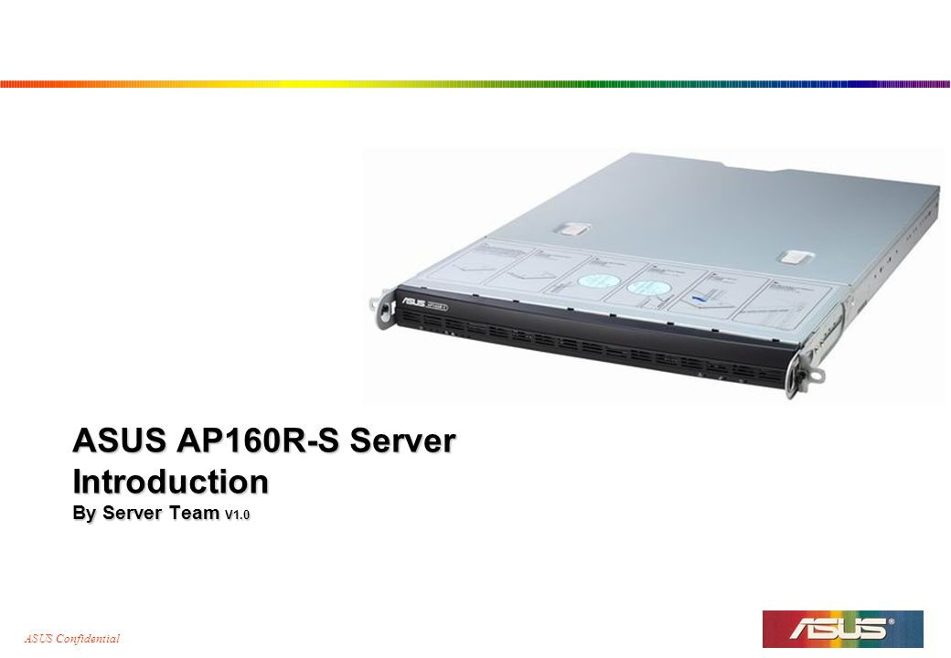 Asus AP160R-S Drivers for Windows